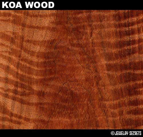 Koa Wood Tree Grain