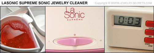 Lasonic Supreme Jewelry Cleaner
