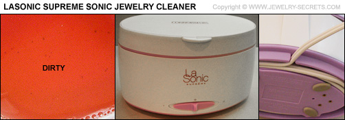 Lasonic Jewelry Cleaner Clean Dirty Test