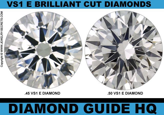 Light Half 1/2 Carat Diamonds