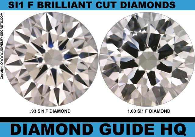 Light One Carat Diamonds