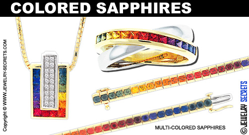 Multi Colored Sapphires