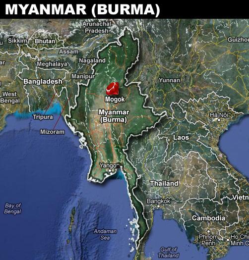 Myanmar Burma Make the Best Rubies