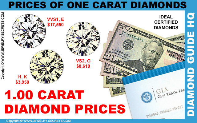 One Carat Certified Diamond Prices