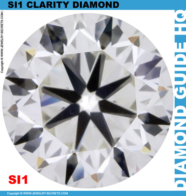 One Carat SI1 H Round Diamond You Will LOVE
