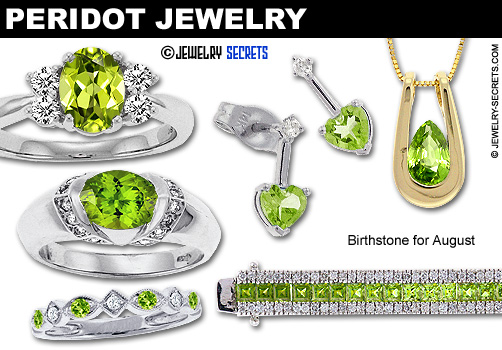 People Love Or Hate Peridot Gemstone Jewelry