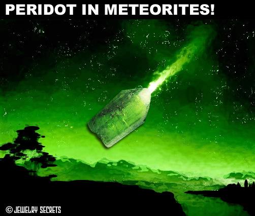 Peridot Gemstone Found In Meteorites