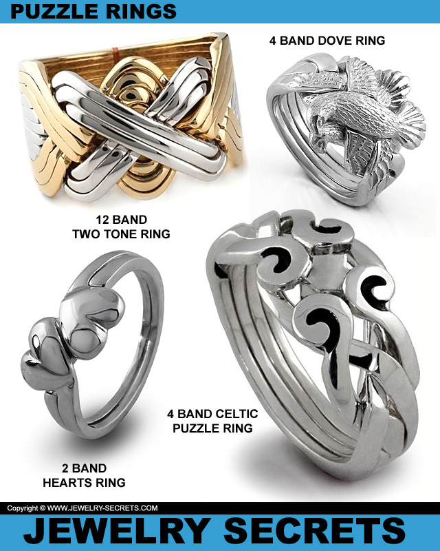 Fun Puzzle Rings