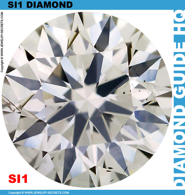Real SI1 Diamond from Diamond Plot