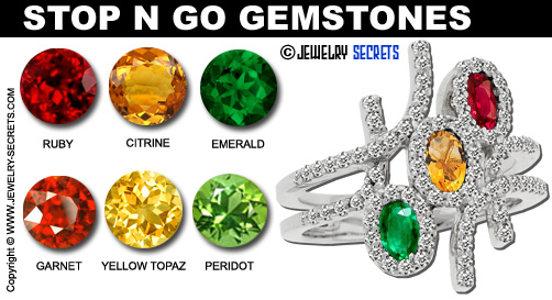 Red Light Green Light Gemstones