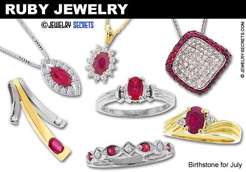 Ruby Gemstone Jewelry