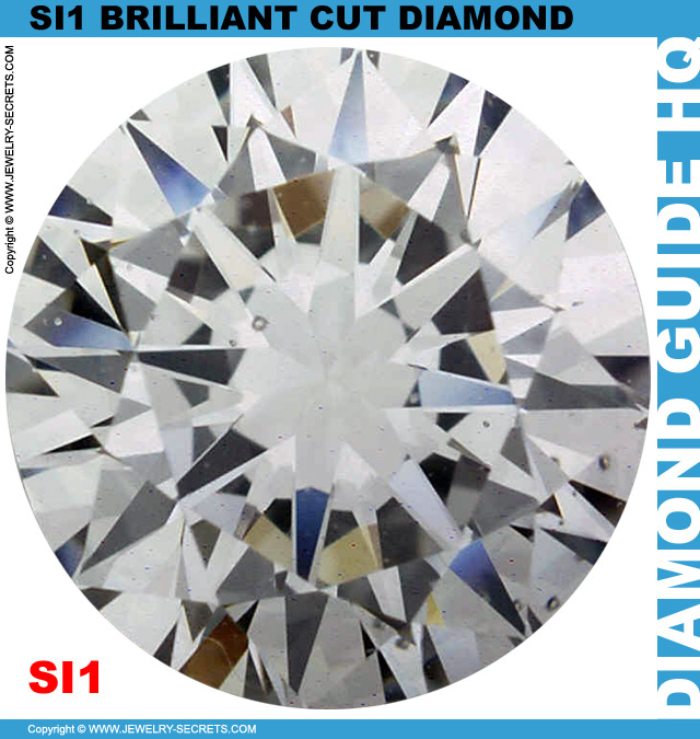 SI1 E Certified Brilliant Cut Diamond