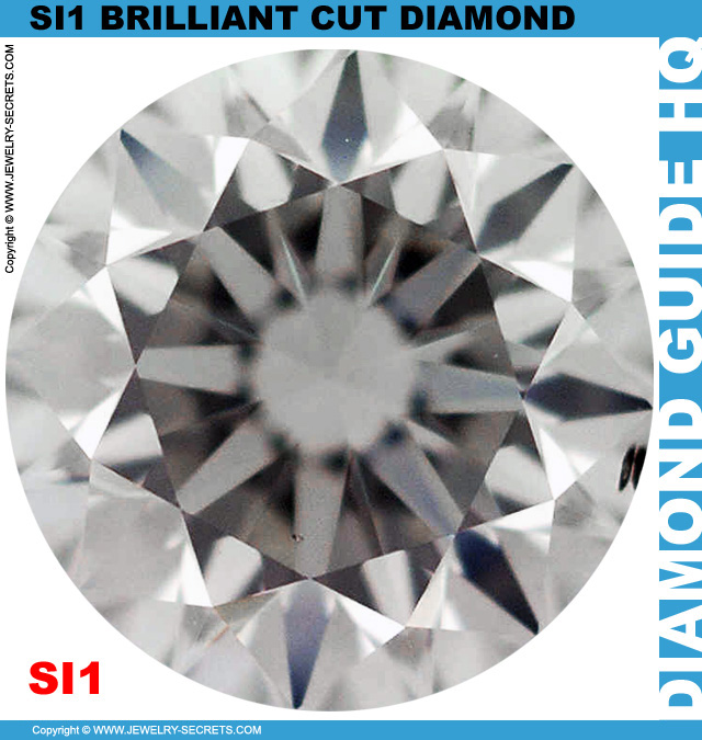 SI1 G Certified Brilliant Cut Diamond