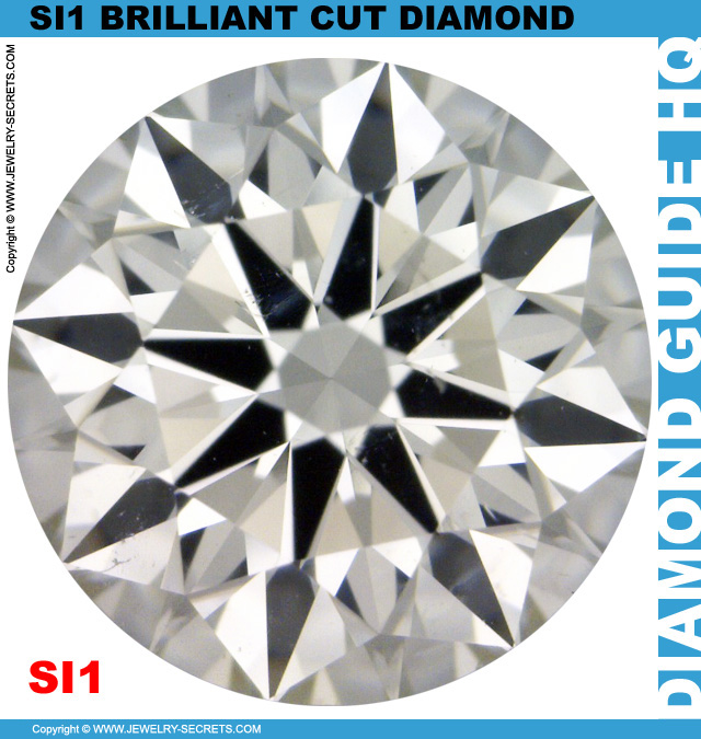 SI1 H Certified Brilliant Cut Diamond
