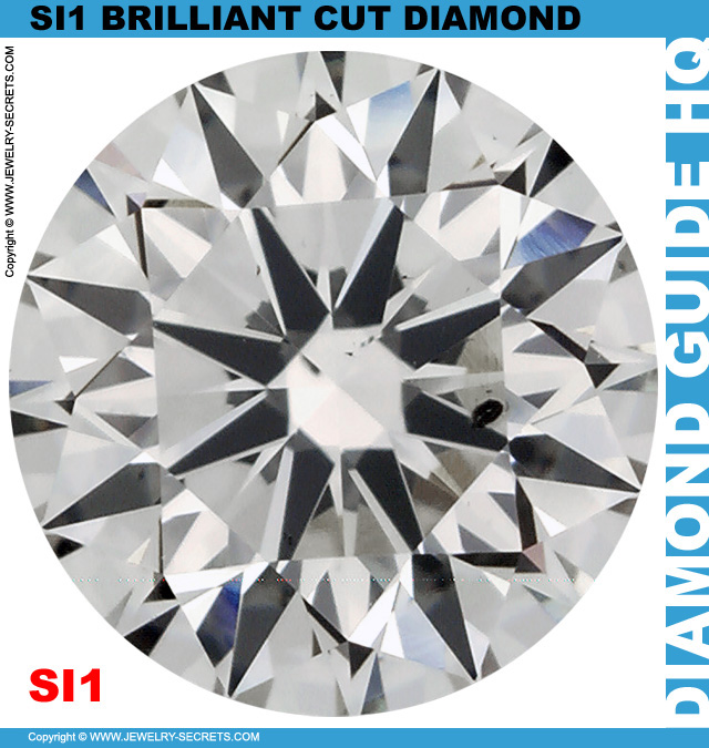 SI1 I Certified Brilliant Cut Diamond