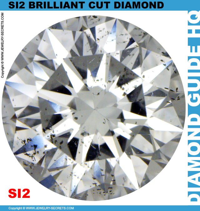 SI2 D Certified Brilliant Cut Diamond