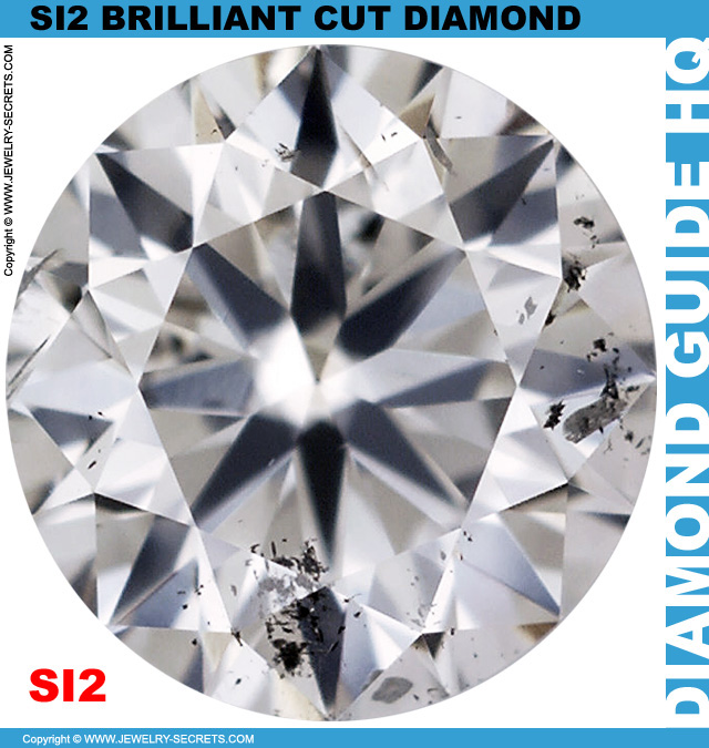SI2 E Certified Brilliant Cut Diamond