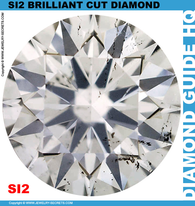 SI2 F Certified Brilliant Cut Diamond