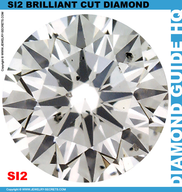 SI2 H Certified Brilliant Cut Diamond