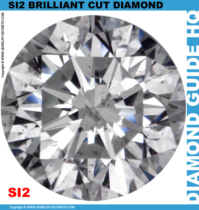 SI2 I Certified Brilliant Cut Diamond