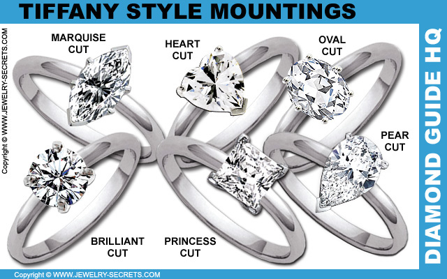 Simple Tiffany Mountings