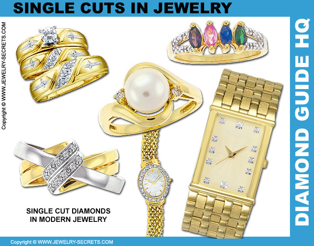 Single Cut Diamonds In Jewelry