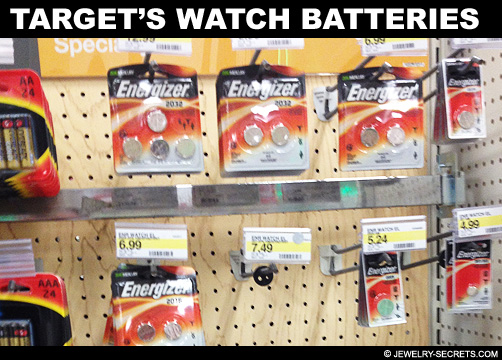 Targets Watch Battery Prices