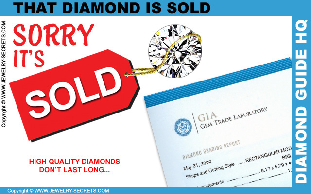 That Diamond is SOLD