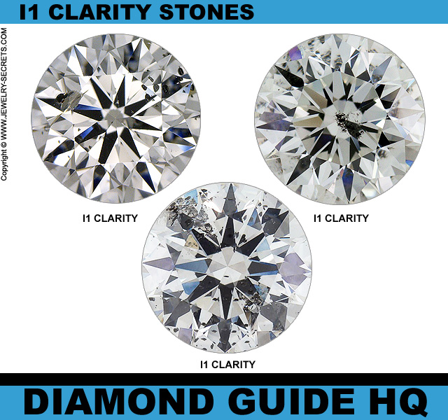 The true meaning of I1 Clarity Diamonds