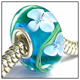 Turquoise Murano Hawaii Bead