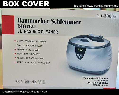 Best Ultrasonic Cleaner Box Cover