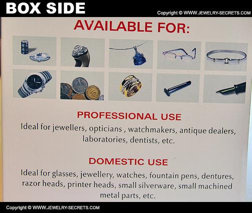 Ultrasonic Cleaner Box Side
