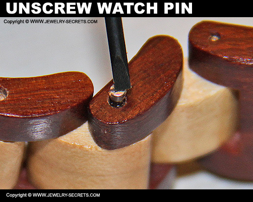 Unscrew Watch Pin