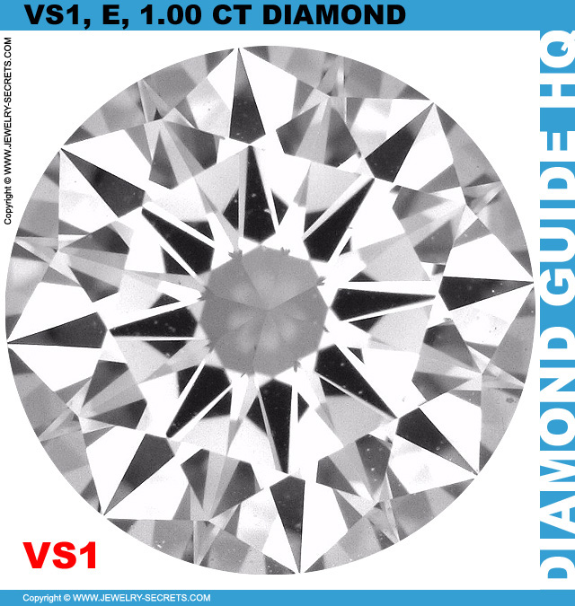 VS1 E 105 Carat Diamond