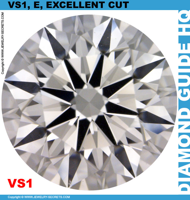 VS1 E GIA Excellent Cut Diamond