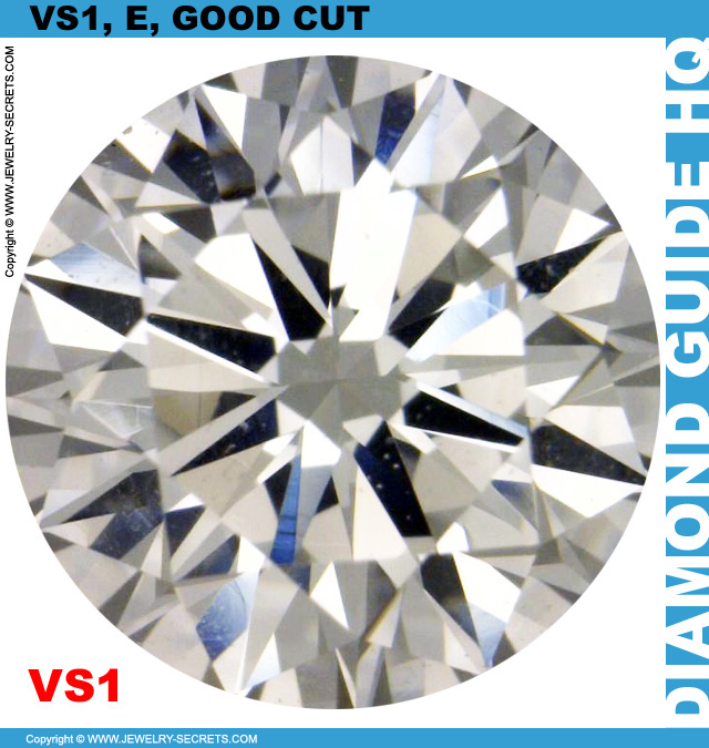 VS1 E GIA Good Cut Diamond