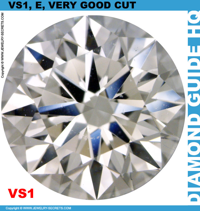VS1 E GIA Very Good Cut Diamond