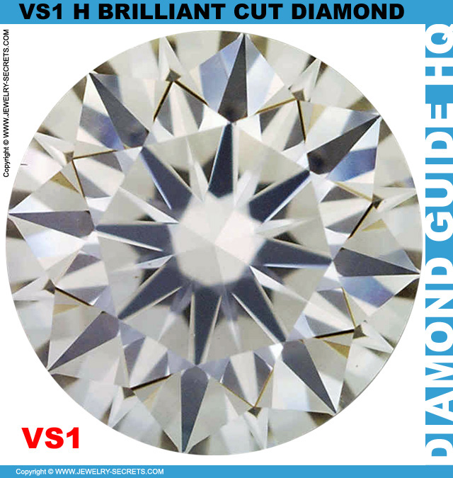 VS1 H Brilliant Cut Diamond