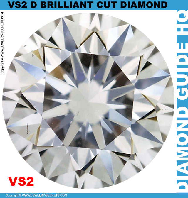 VS2 D Brilliant Cut Diamond