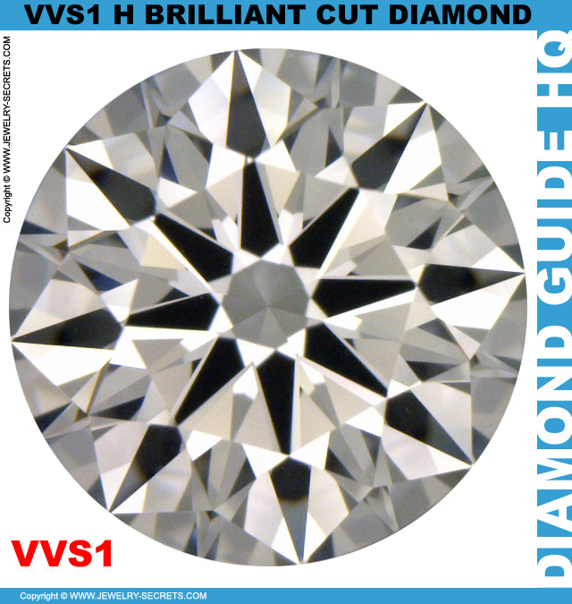 VVS1 H Brilliant Cut Diamond