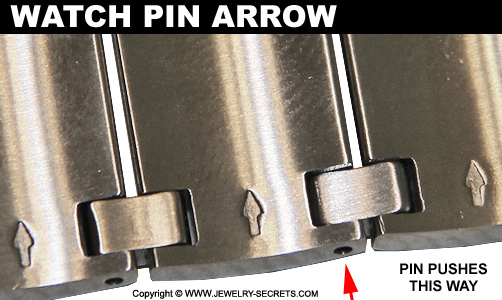 Watch Pin Direction Arrows
