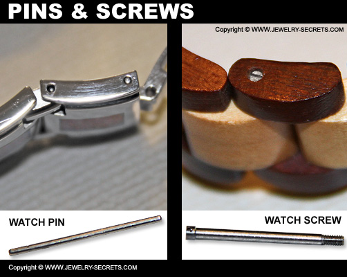 Watch Pins And Screws