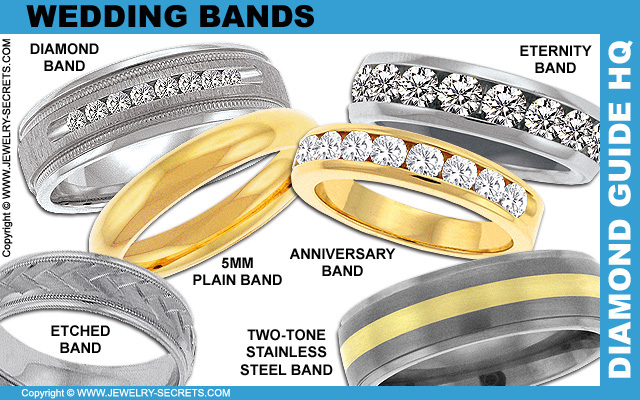 Wedding Bands, Anniversary Bands, Eternity Rings