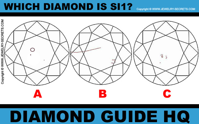 Which Diamond Is SI1 Clarity?