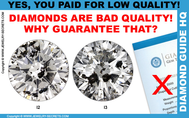 Why Certify Low Quality Diamonds