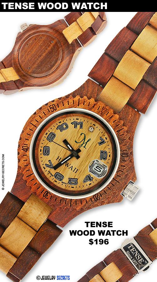 Beautiful Tense Wood Watch