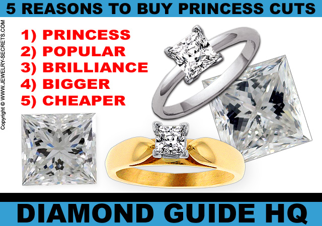 5 Reasons to Buy a Princess Cut Diamond