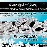 Bridal Show Diamond Event Sample Ad
