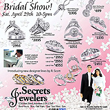 Bridal Show Jewelry Flier Sample Ad