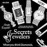 Bulova Watch Sample Ad